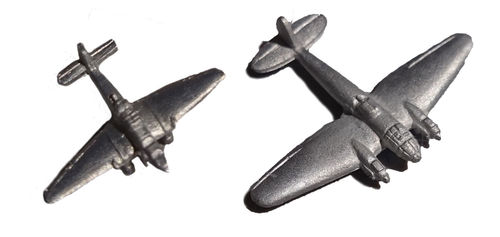 Metal Miniatures Bombers
