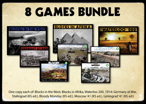 8 GAMES BUNDLE