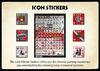 K41 Icon Stickers