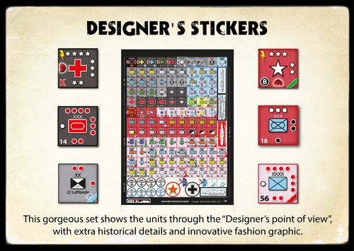 K41 Designer's Stickers