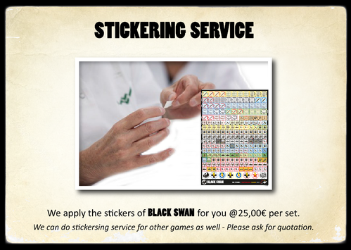 Stickering Service for Black Swan